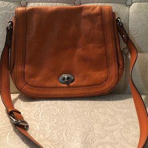Fossil light brown bag